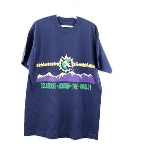 Vintage 90s Cocaine Anonymous Celebrate T Shirt